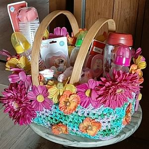 decorated baskets
